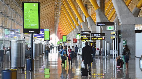 Terminal de Madrid-Barajas / Foto: Aena