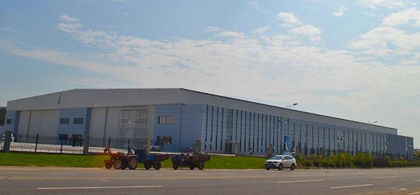 La fábrica en la que se producirán los aviones / Tecnam