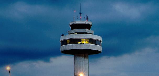 Torre de control del Aeropuerto de Palma de Mallorca / foto: Aena