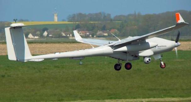 El Patroller, en la base aérea de Beja (Portugal) / Foto: Sagem