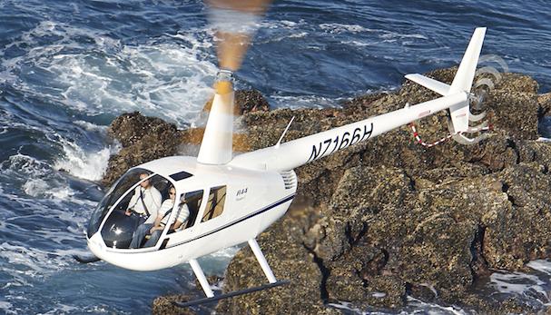 Robinson R44 de cuatro plazas
