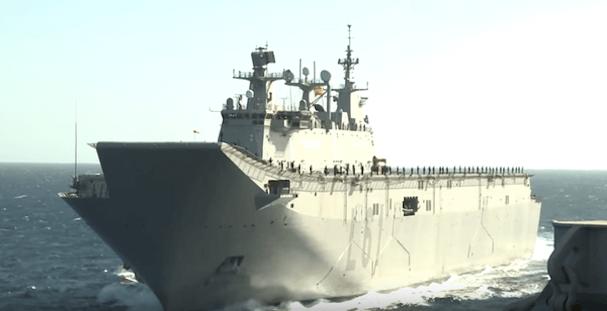 El buque Juan Carlos I