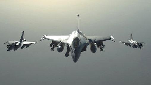 Cazas Rafale equipados para el combate / Ministerio de Defensa de Francia
