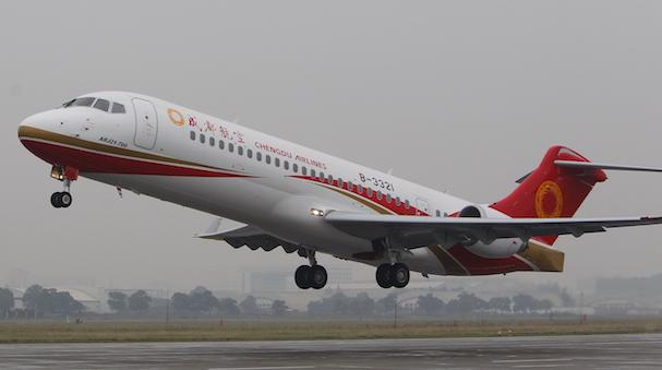 ARJ21_vuelo