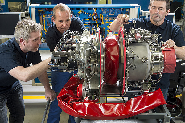Motor Arrius 2R / Turbomeca - Grupo Safran
