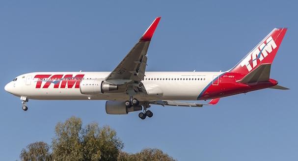 Boeing 767 de LATAM