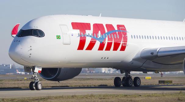 Airbus A350 de TAM Airlines