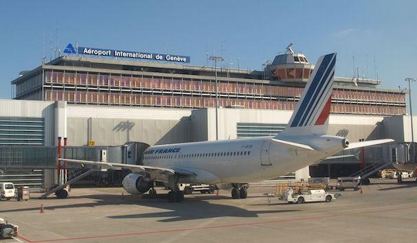Aeropuerto de Ginebra / Wikipedia