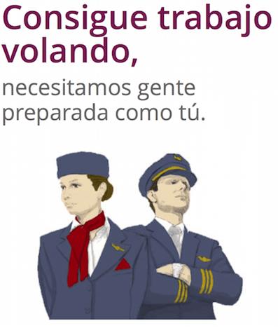 Captura de pantalla de la web de la Aeronova