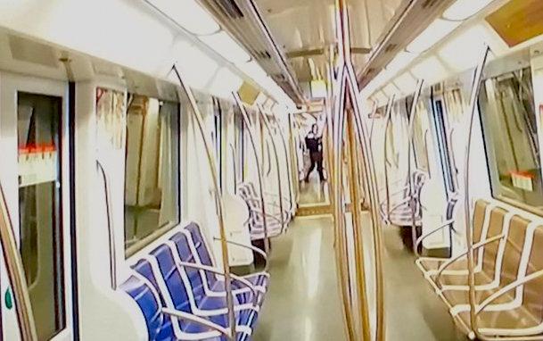 Interior de uno de los vagones