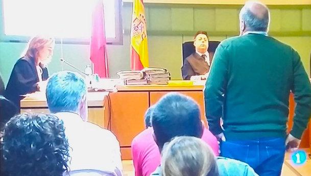 Un trabajador de Airbus declara en el juicio / Captura de pantalla vídeo TVE