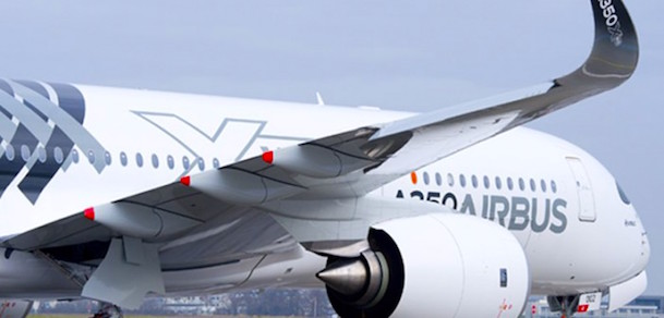 A350, en su primera visita a Chile