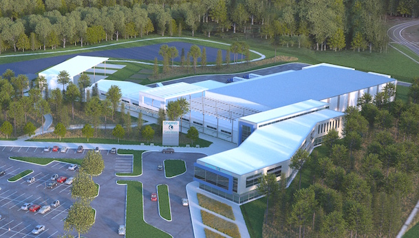 Imagen virtual de la industria que se creará en Florida