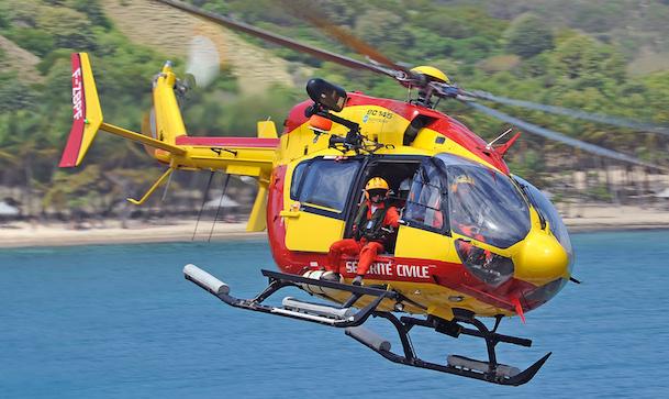 EC145 de Sécurité Civile / A. Pecchi - Airbus Herlicopters