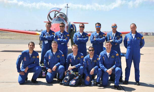 Los pilotos de la Patrulla Águila / Ejército del Aire