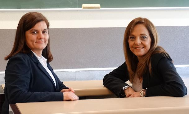 Isabel Pérez y Cristina Cuerno