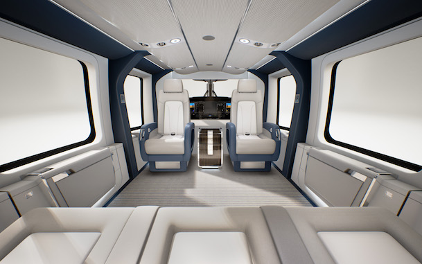 Interior del H160 / Airbus Helicopters