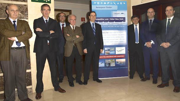 Miembros de la junta directiva del cluster HEGAN