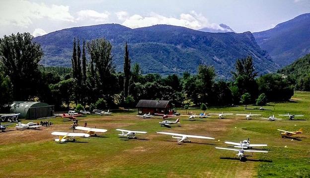 Aeródromo de Castejón de Sos, este fin de semana