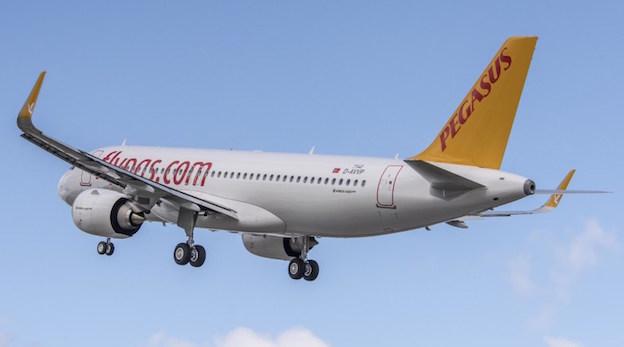 A finales de julio se entrego este avión a Pegasus / Airbus