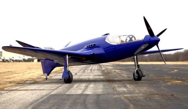 Réplica del Bugatti 100P