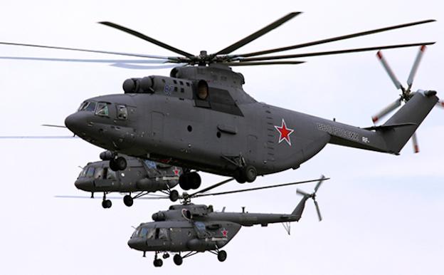 Helicópteros de Rusia