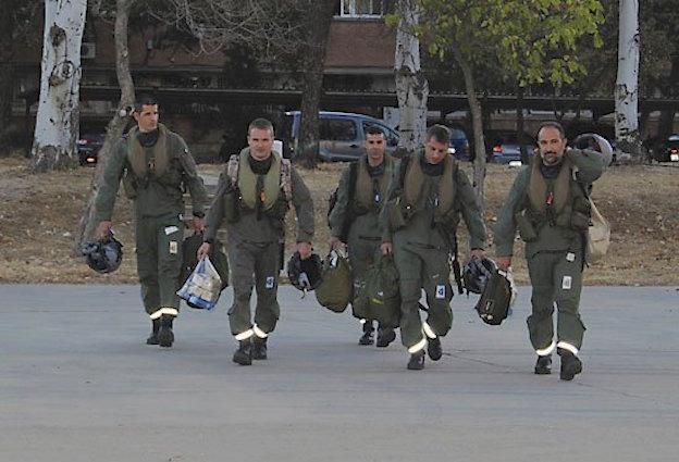 Grupo de pilotos / Ejército del Aire