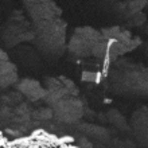 Primer plano de Philae