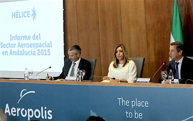 Imagen de la presentación del informe