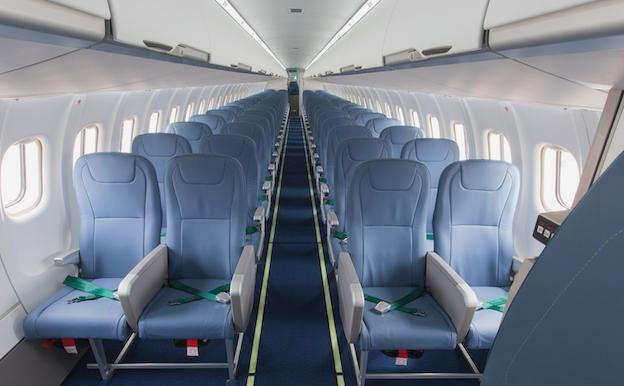 Interior del avión / ATR