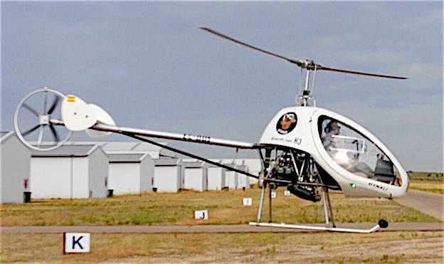 El H3 es el primer helicóptero que se certifica en España como ultraligero / HEDESPA