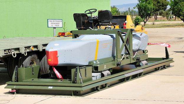 Misil Taurus / Ejército del Aire