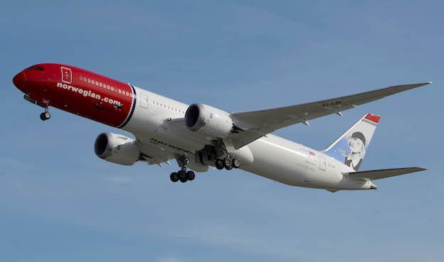 Boeing 787 Dreamliner de Norwegian