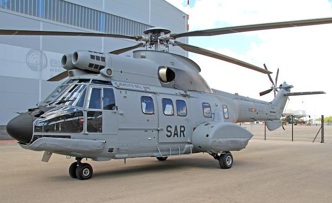 El nuevo H215, fotografiado por Pablo Rada / Airbus Helicopters