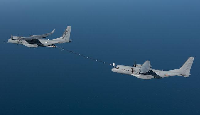 Imagen de uno de los contactos / Airbus Defence and Space