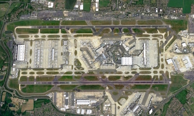 Aeropuerto de Heathrow / Google Earth