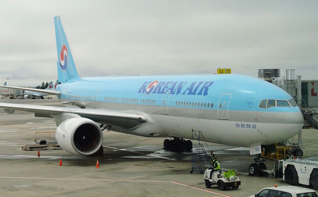 Boeing 777 de Korean Air / Wikipedia