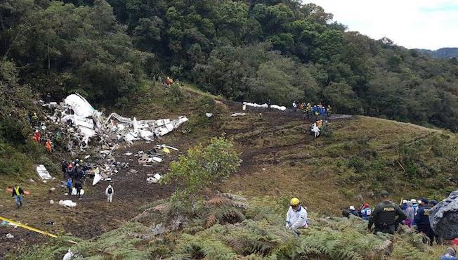 Foto del avión siniestrado publicada en el Facebook de la Aeronáutica Civil de Colombia