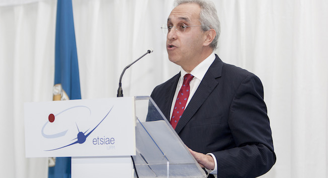 Ángel Luis Arias, director general de ENAIRE