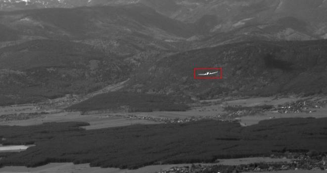 La aeronave se muestra recuadrada en la pantalla del sistema / Diamond Aircraft