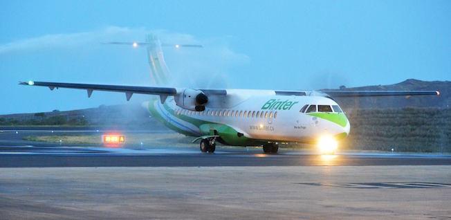 binter cabo verde ya realiza vuelos interinsulares en el