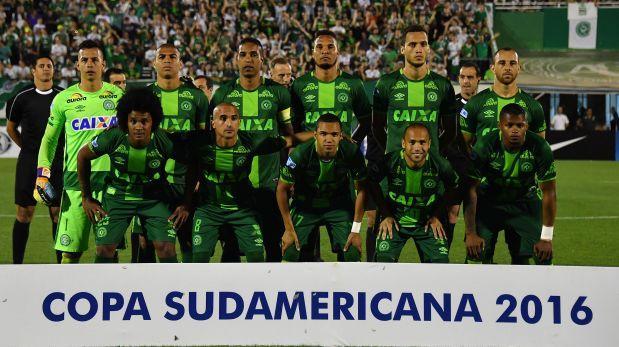 El equipo de fútbol del Chapecoense