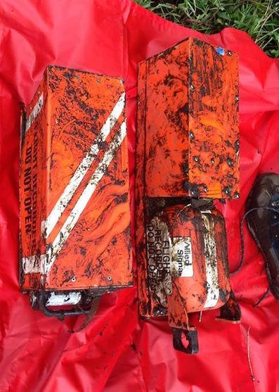 Las cajas negras del avión siniestrado / Aerocivil Colombia